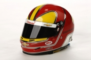 Helio Castroneves helmet