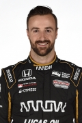 James Hinchcliffe driver page large