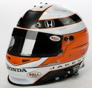 James Jakes helmet