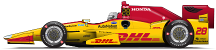 Ryan Hunter-Reay driver page