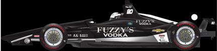 Ed Carpenter car side Indy 500