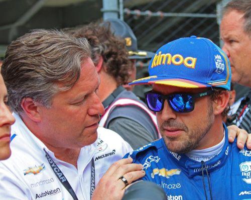 Zac Brown troost Fernando Alonso