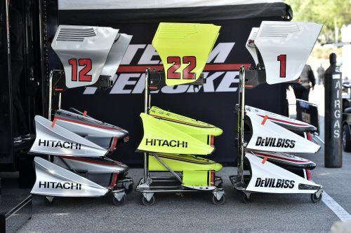 Vleugels van Team Penske