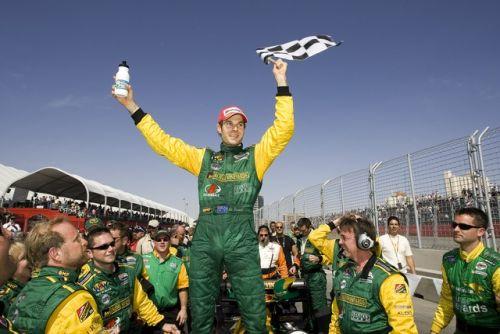 Will Power viert zijn overwinning in Las Vegas