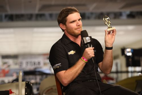 Conor Daly wint de iRacing favoriet moment award