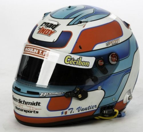 Tristan Vautier helmet