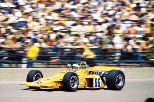 Peter Revson pakt pole in de Indianapolis 500 van 1971