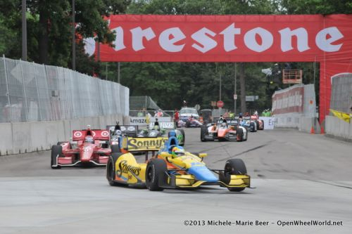 Mike Conway, Detroit
