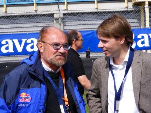 Kevin Kalkhoven in gesprek met Bavaria Directeur Peer Swinkels