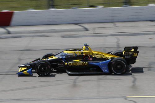 Zach Veach, Iowa Speedway