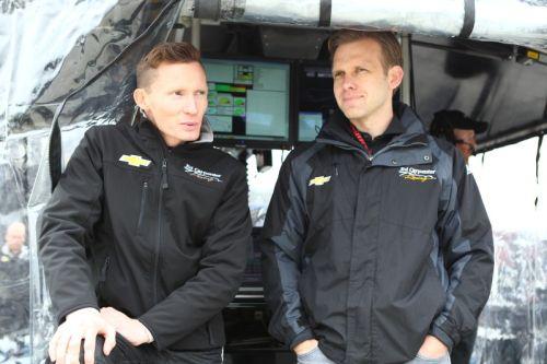 Mike Conway en Ed Carpenter, Barber Motorsports Park