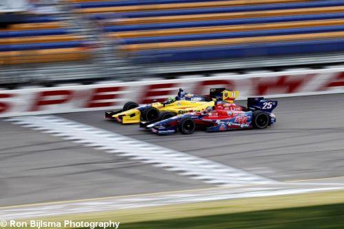 Marco Andretti, Tony Kanaan, Iowa Speedway