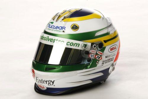 Simona de Silvestro helmet