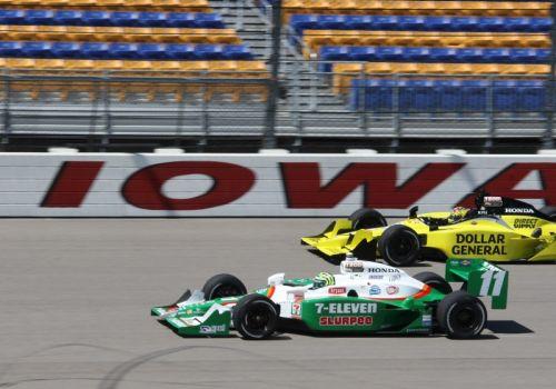 Tony Kanaan voor Sarah Fisher, Iowa Speedway