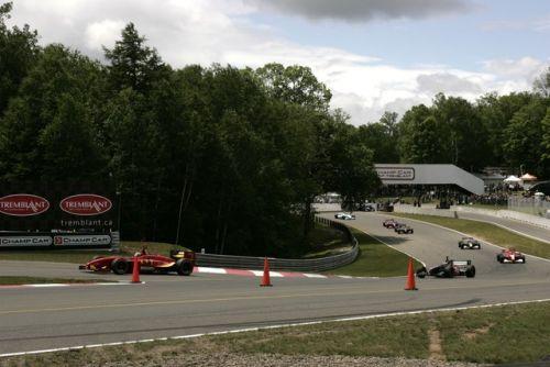 Sebastien Bourdais leidt de eerste ronde in Mont-Tremblant