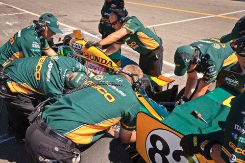 Tony Kanaan, Infineon Raceway