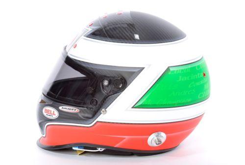 Michel Jourdain Jr. helmet