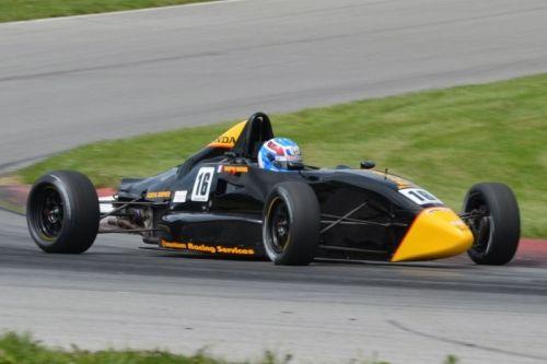 Tristan Vautier maakt een Formule Ford uitstapje op Mid-Ohio