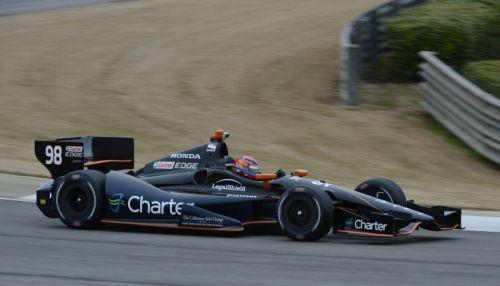 Jack Hawksworth test op het Barber Motorsports Park