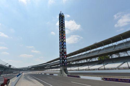 De nieuwe scoretoren van Indianapolis
