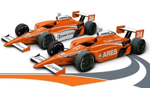 De nieuwe kleurstelling van de Conquest Racing bolides