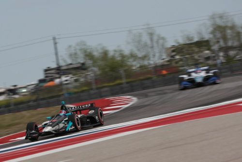 Colton Herta op Circuit of the Americas