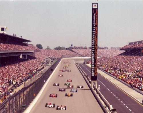 De start van de Indianapolis 500 in 1994