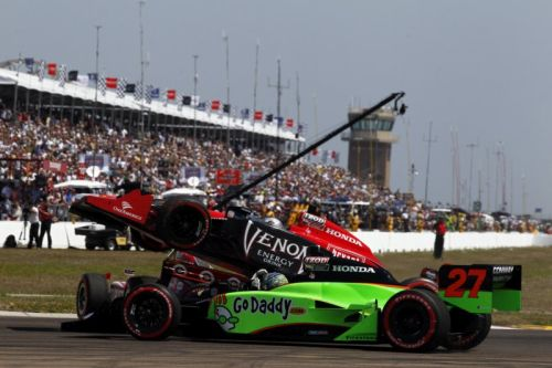 Marco Andretti, Mike Conway, St. Petersburg