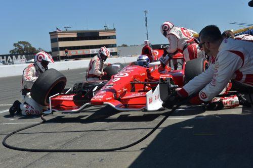 Scott Dixon heeft een superstop op de Sonoma Raceway