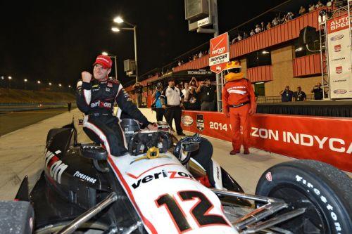 Will Power pakt het kampioenschap in Fontana