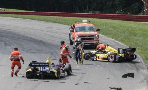 Marco Andretti, Tony Kanaan, Mid-Ohio