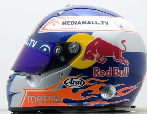 Helm van Robert Doornbos