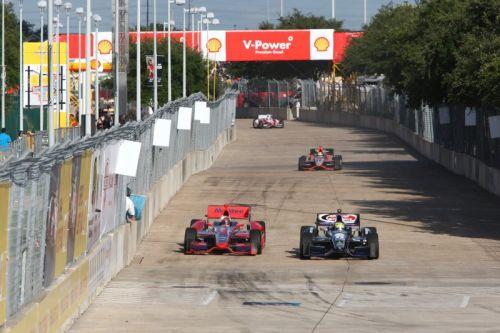 Sebastien Bourdais, Tony Kanaan, Houston