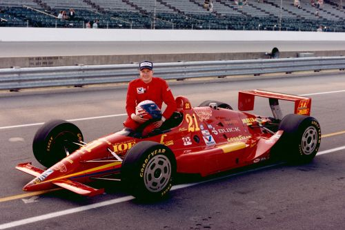 Buddy Lazier in 1993, Indianapolis