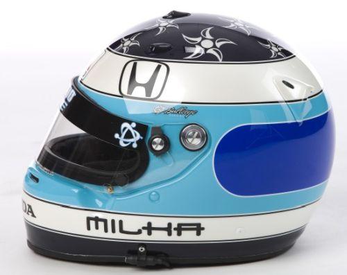 De helm van Milka Duno
