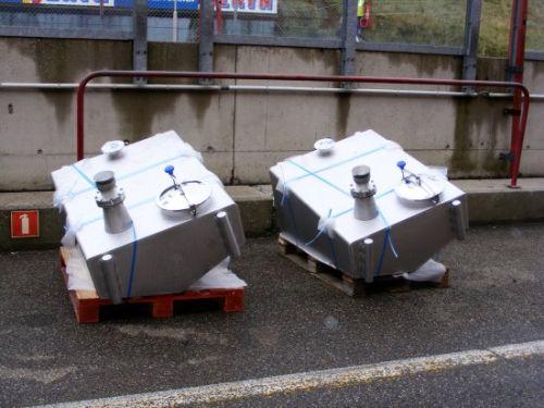 Tankinstallaties liggen klaar in de pitstraat