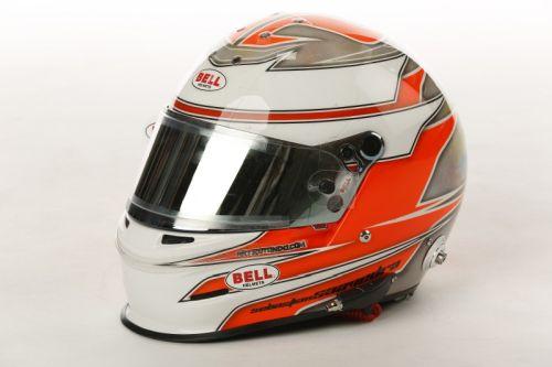 Sebastian Saavedra helmet