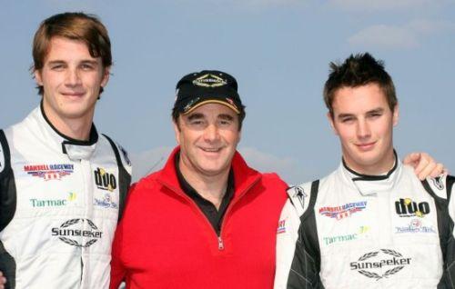 Leo, Nigel en Greg Mansell