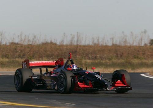 Ryan Dalziel test op de MSR Houston