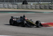 James Hinchcliffe op COTA