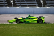 Tony Kanaan test op de Texas Speedway in de 2012 kleuren