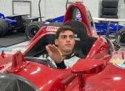 Rinus VeeKay past een stoeltje bij Ed Carpenter Racing