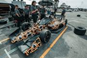 McLaren test het nieuwe aero screen op Sebring