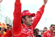 Franchitti wint in Toronto