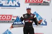 Will Power pakt pole in Baltimore