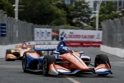 Scott Dixon voor Ryan Hunter-Reay, Toronto