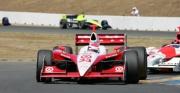 Ryan Briscoe pakte pole op de Infineon Raceway in 2005