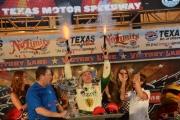Ed Carpenter wint in Texas