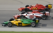 Mario Moraes, Will Power, Justin Wilson, Chicagoland