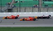 Arie Luyendyk Jr., Raphael Matos, Kansas Speedway